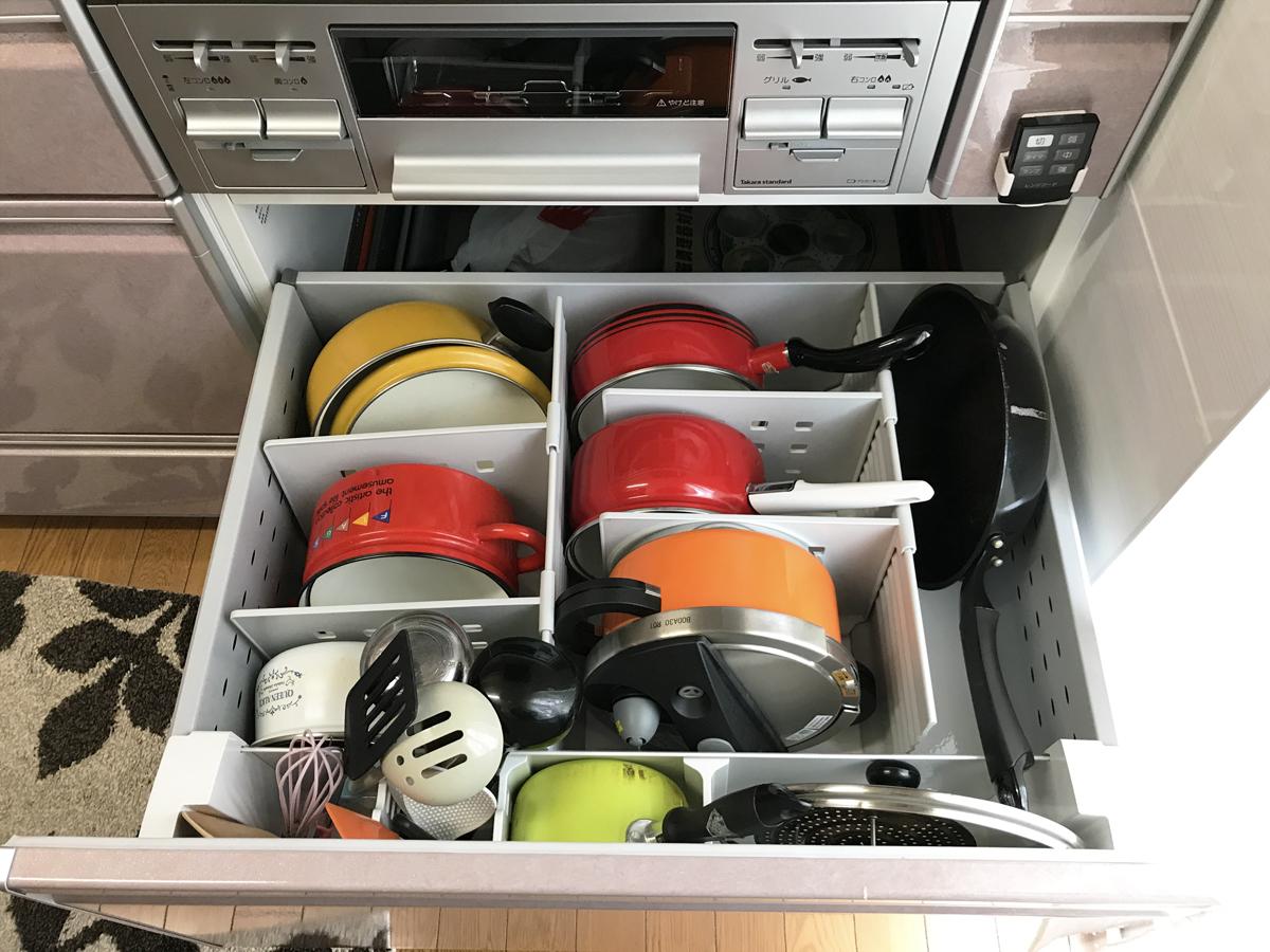 キッチン収納のお手伝い