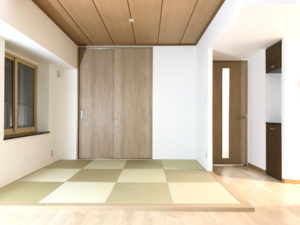 壁をなくし、開放感がある空間へ