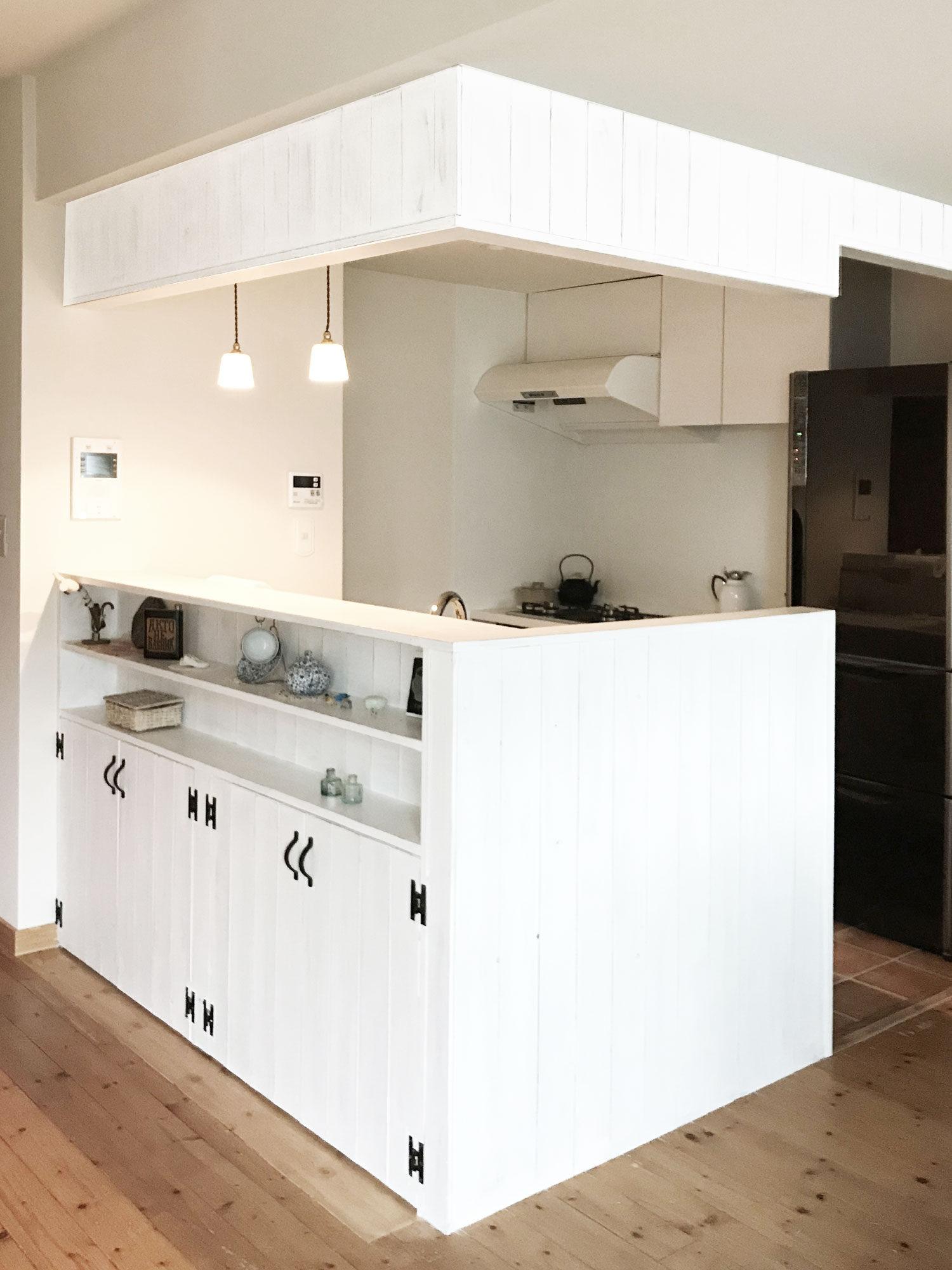 キッチン大改造!L型から2列型へ