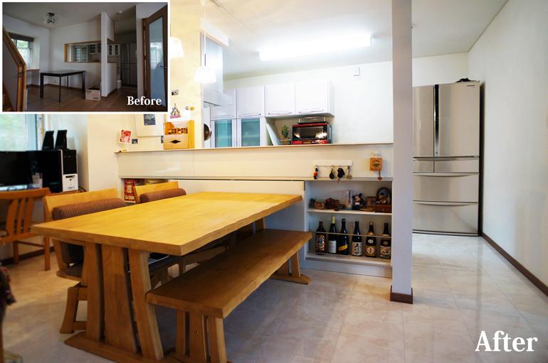 毎日の暮らしが楽しく、楽に!『キッチンリフォーム』