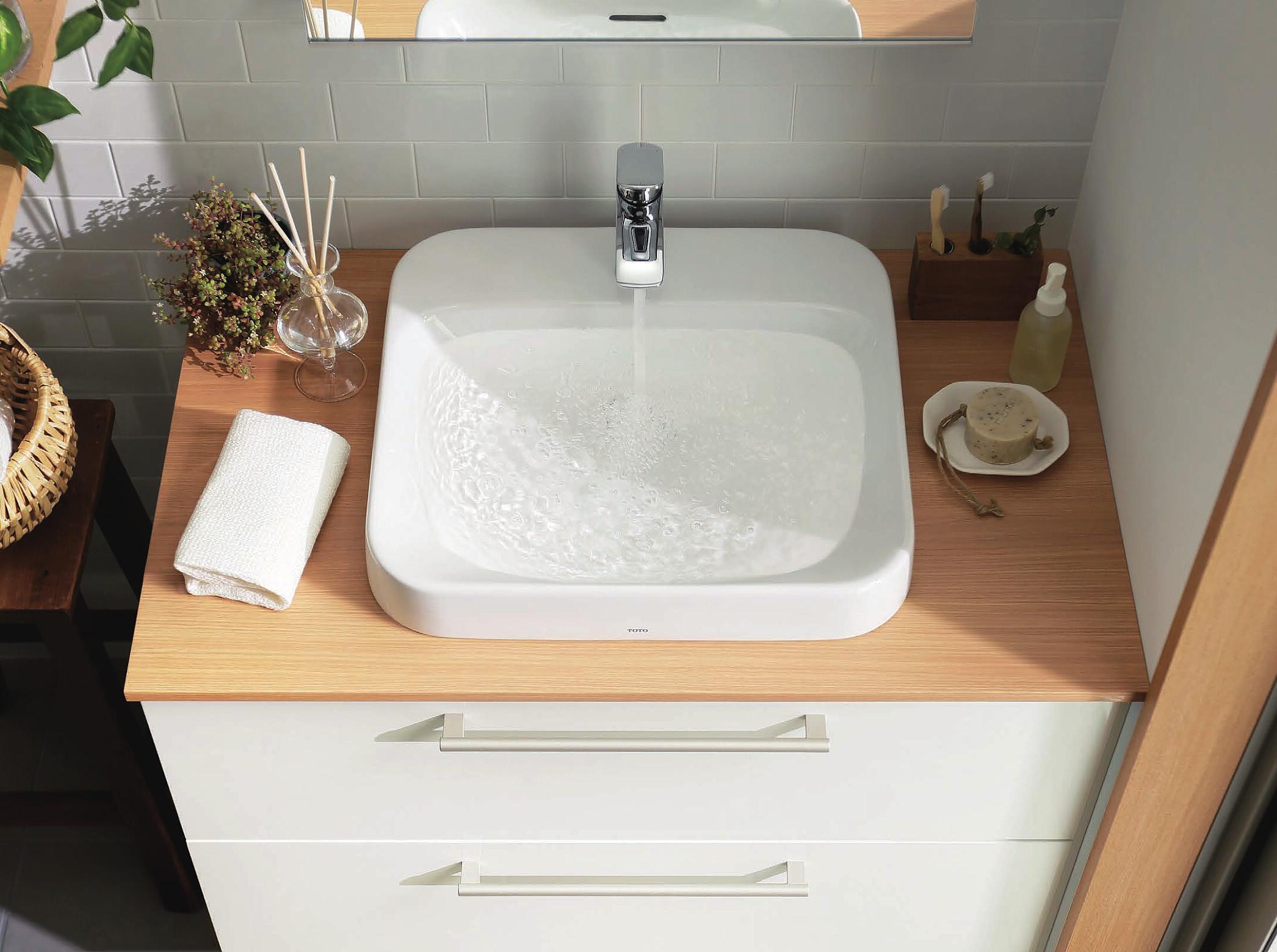 自分で選んで世界で一つだけの洗面台に!