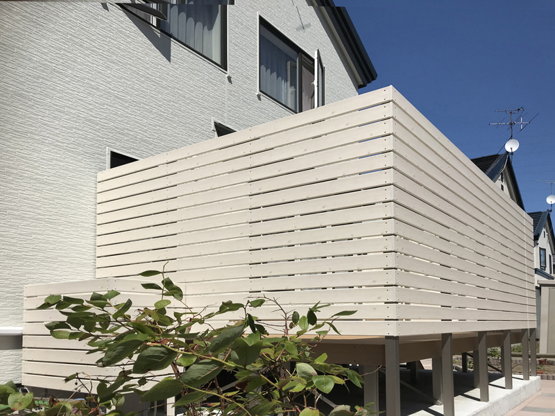外壁工事と外構工事 -ライフスタイル札幌-